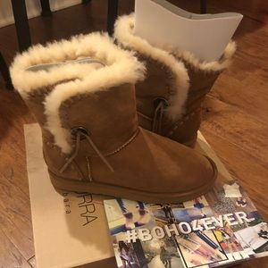 Kookaburra Shearling Boot